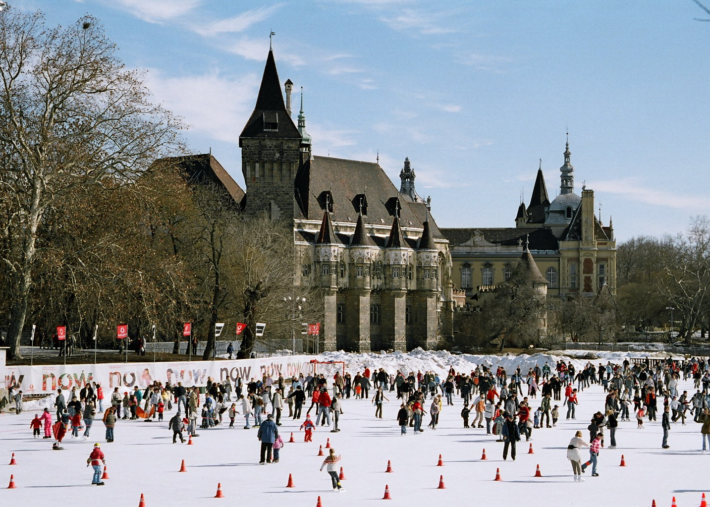 City Park Ice Rink and Boating Lake Budapest