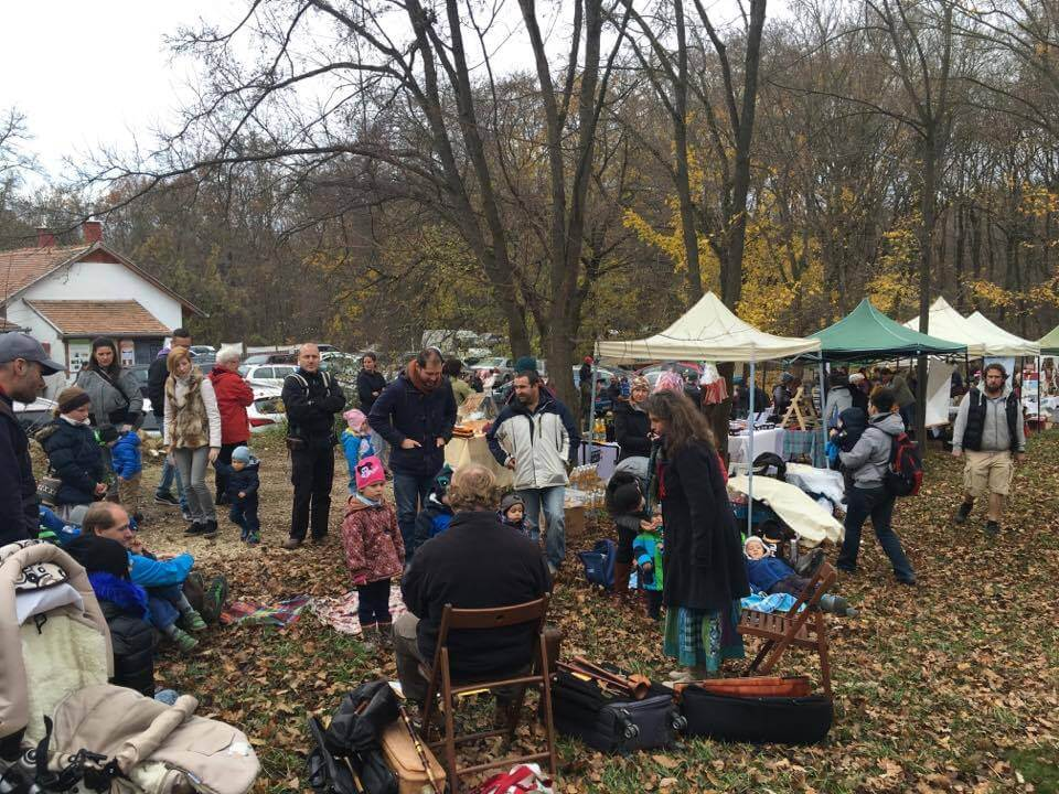 Market in the Forest near Budapest