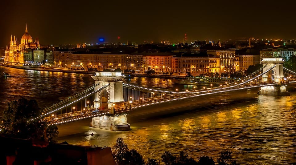 Party on the Danube Budapest