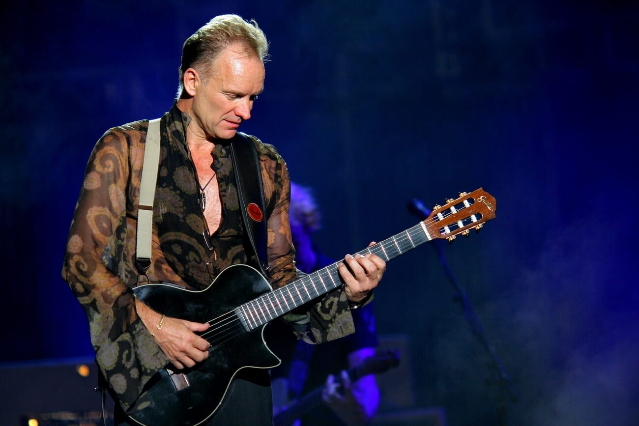 Free Sting and Shaggy concert in Budapest